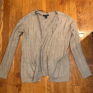 Tan cardigan from Forever 21!